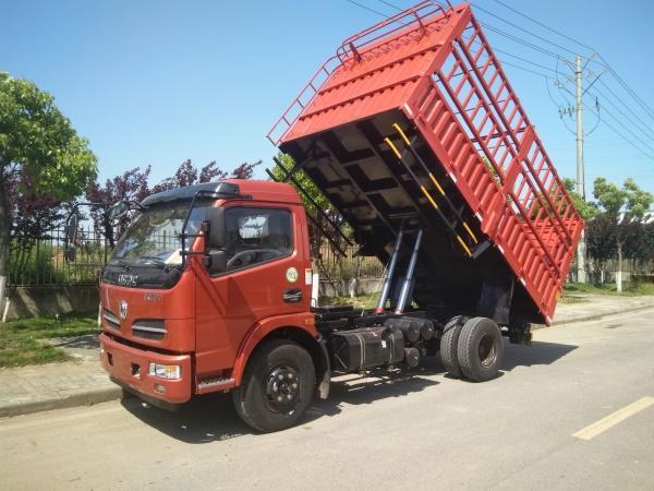 蓝牌4.2米轻卡仓栅车型东风小型货车厂家直销