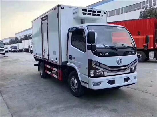 國六東風多利卡4米2冷藏車_東風4.2米冷藏車廠家_價格_配置_圖片