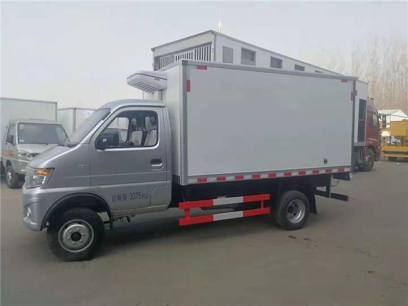 長安神騏國六3米2冷藏車-長安神騏國六3米2冷藏車價格