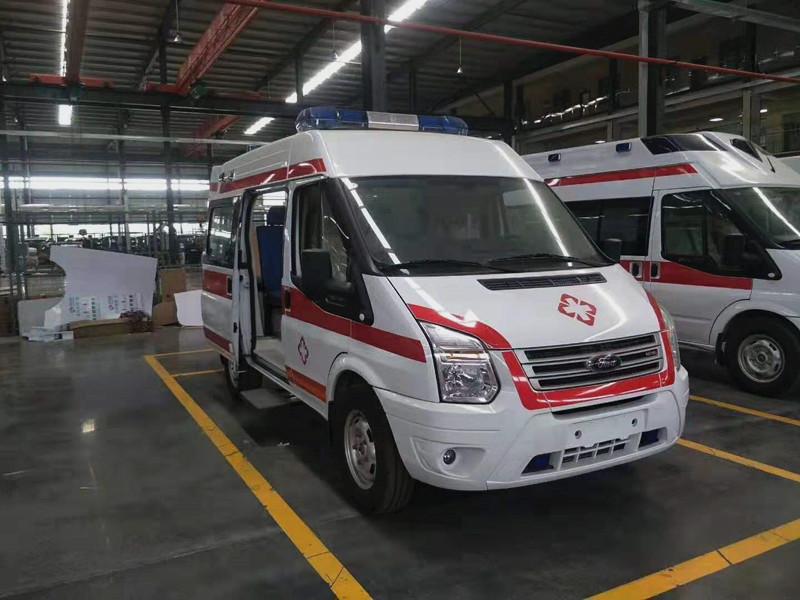 云南孟連福特短軸運輸型救護車價格_福特救護車廠家
