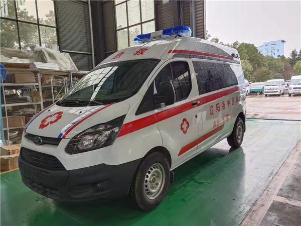 新品出爐!國六福特V362轉運120救護車核載8人