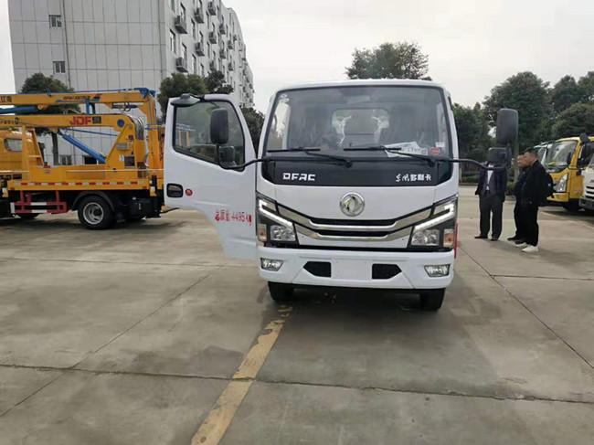 東風多利卡國六清障車廠家——藍牌清障車多少錢一臺