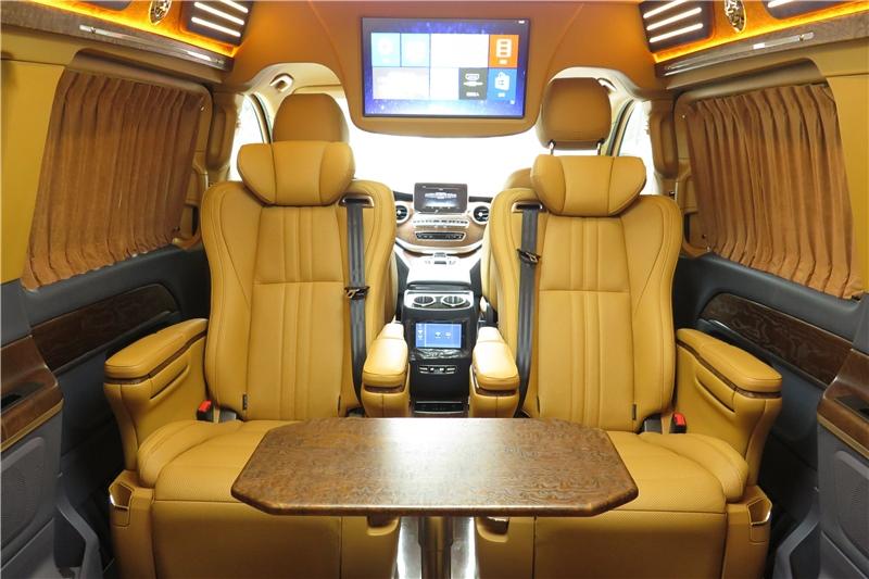 七座奔驰V级改装房车奕享版,华贵与典雅,真的难以抗拒