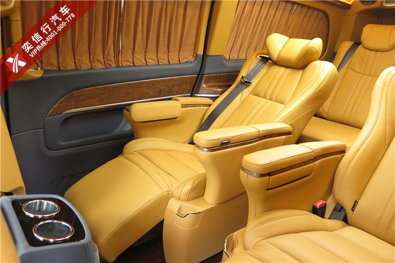 概不外借的七座奔驰V260L商务房车,众里寻它千百度