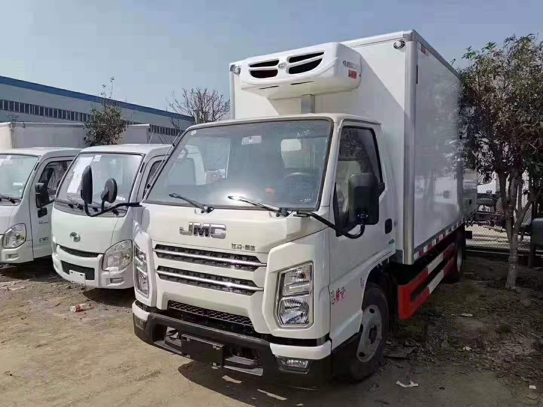 国六江铃顺达冷藏车报价—江铃4.2米冷藏车多少钱一辆