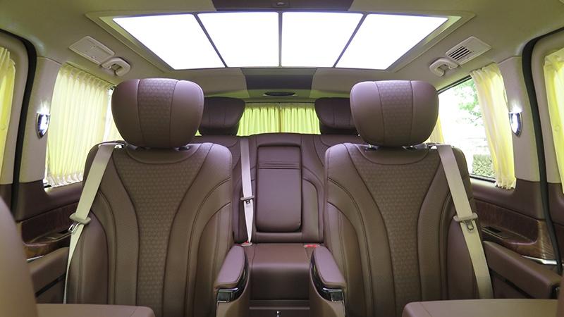 上海  浙江  奔馳7座商務車頂配車型,V級房車T580版,雙十一特價款車型,購車送蘋果手機
