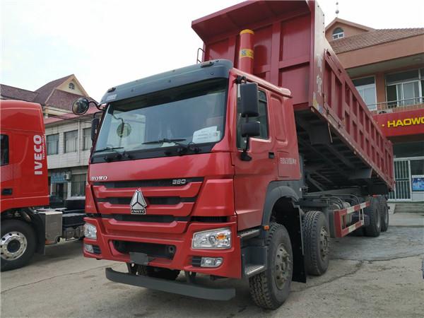 380马力豪沃8.5米自卸车