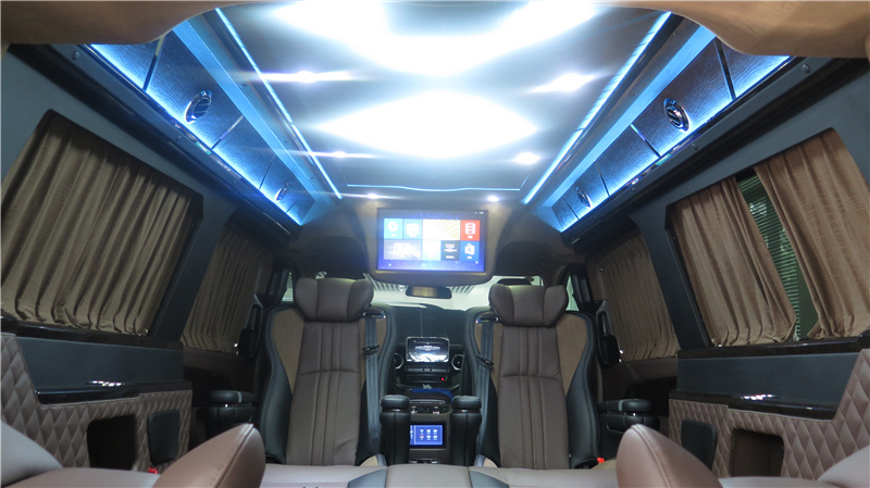 安徽 铜陵 六安  奔驰V260L加长版7座房车威俊版 商务车 奕信行房车到店报价