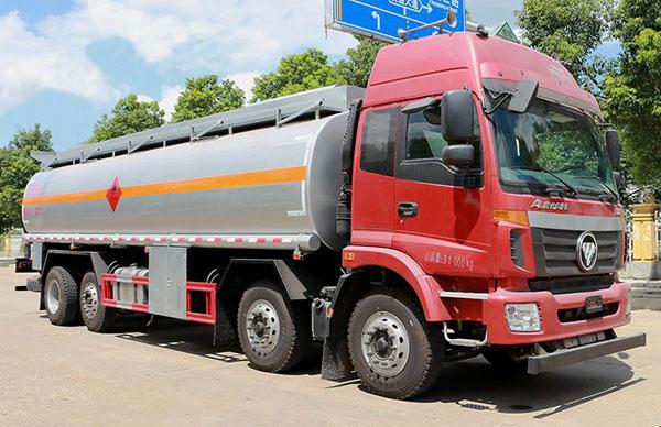 东风天龙油罐车28吨油罐车厂家直