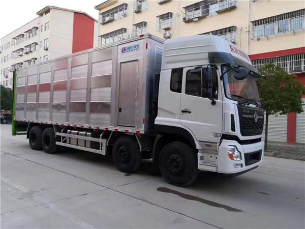 程力全铝合金畜禽运输车新品首发