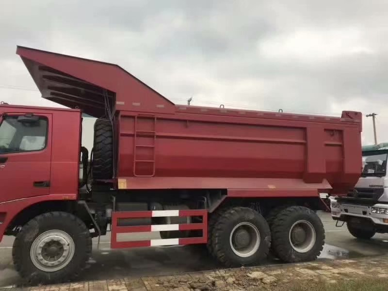 重汽豪沃70礦霸自卸車