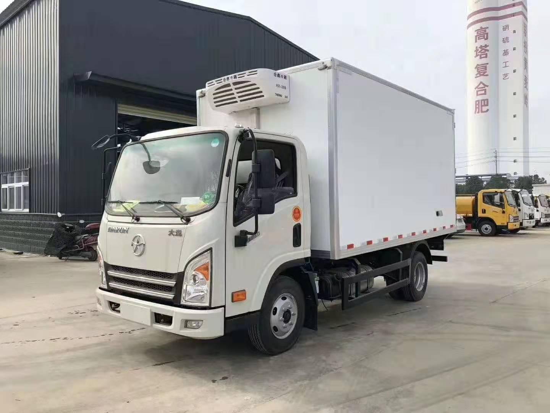 大運國六冷藏車價格-4.2米冷藏車多少錢一輛