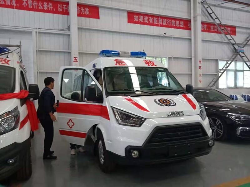 江鈴特順長軸救護車價格_江鈴JMC救護車配置_特順救護車哪里買