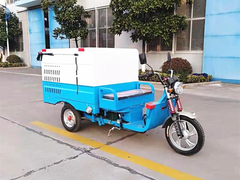 電動三輪高壓清洗車 可用于消毒和噴灑農藥