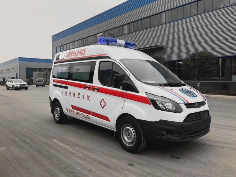 國六救護車哪里買__江鈴新全順救護車配置_福特救護車廠家
