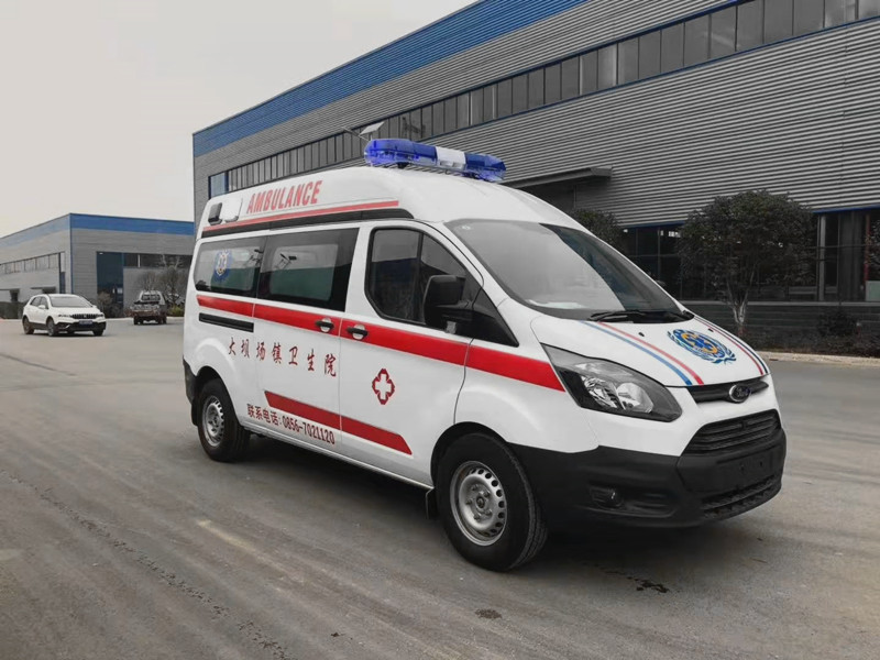 国六新全顺柴油救护车价格_国六福特救护车配置_国六监护型救护车厂家