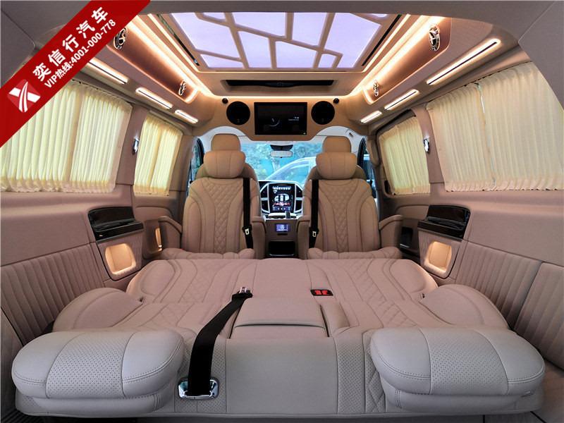 奔馳威霆七座商務年底價格行情,奔馳房車 威霆房車最新報價圖片