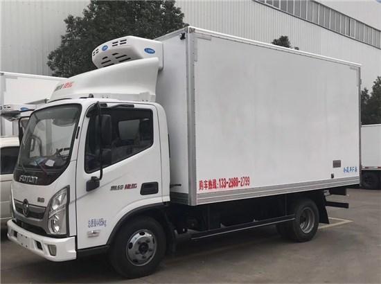 國六福田奧鈴捷運冷藏車_4.2米冷藏車廠家_價格多少錢_配置_圖片