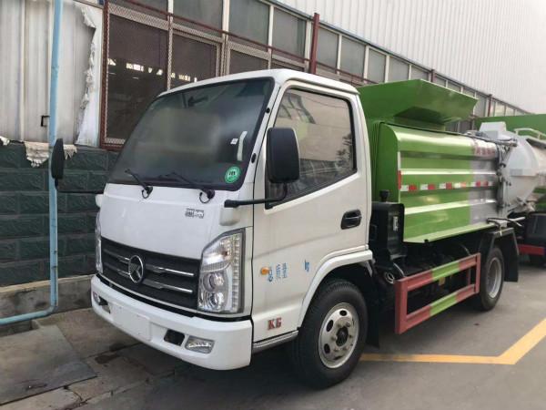 國六|藍牌|凱馬|餐廚垃圾車[不超重]環保達標[可上戶]放心購車|廠家