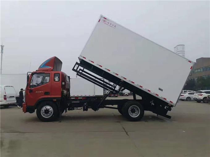 福田奧鈴CTS冷藏車-無害化運輸車-國六冷藏車廠家
