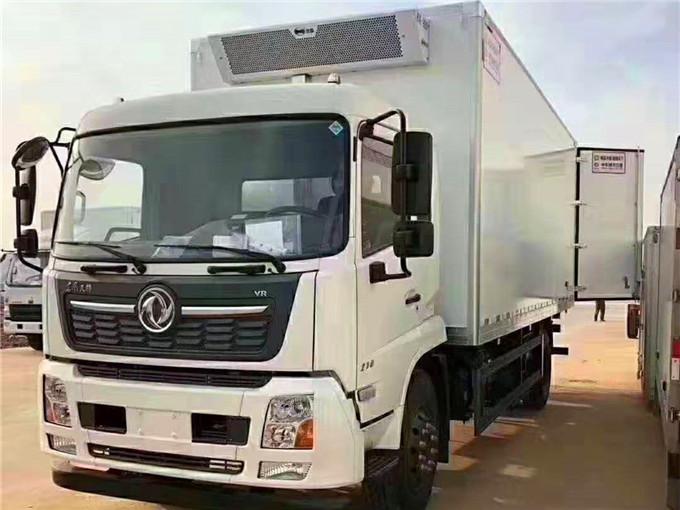 东风天锦鲜活鱼运输冷藏车配置-6.8米冷藏车价格表