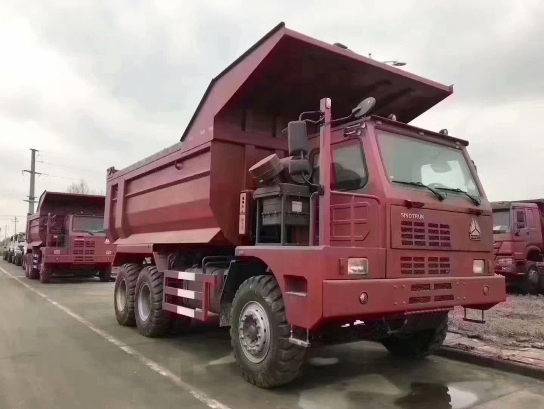 中國重汽HOWO 6x4礦山霸王,70礦霸