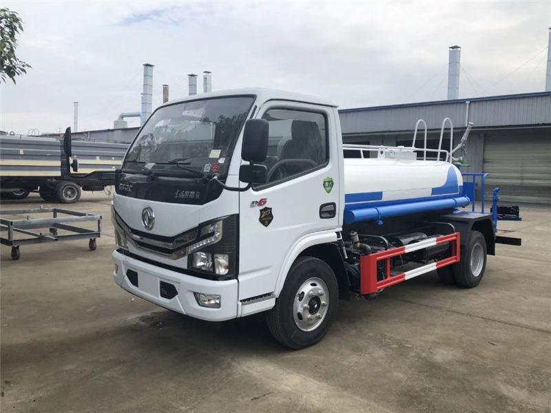 国六东风多利卡2吨洒水车配置_图片_价格-湖北程力
