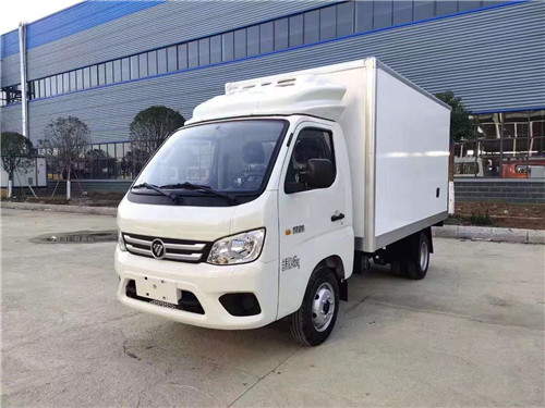 国六福田祥菱M1冷藏车搭载1.5升排量的东安DAM15L发动机