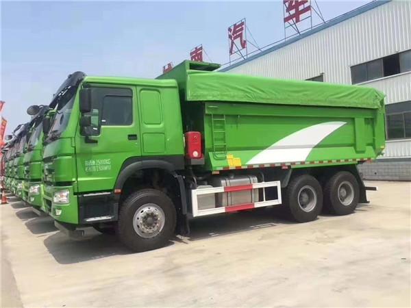 中國重汽380馬力6X4驅動豪沃6米車廂自卸車