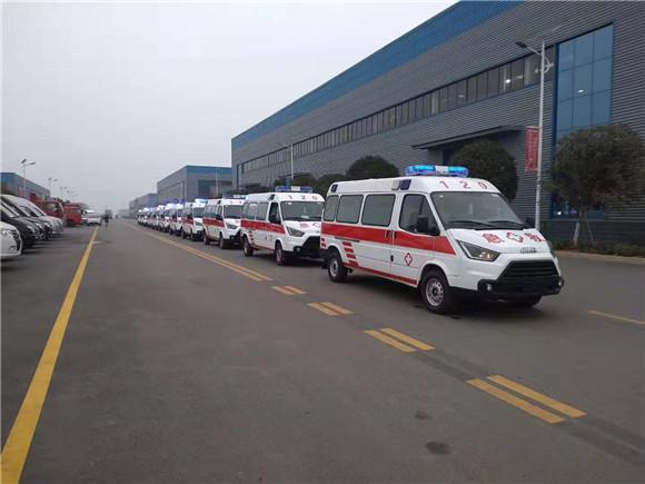 國六江鈴福特新全順救護車價格表及圖片