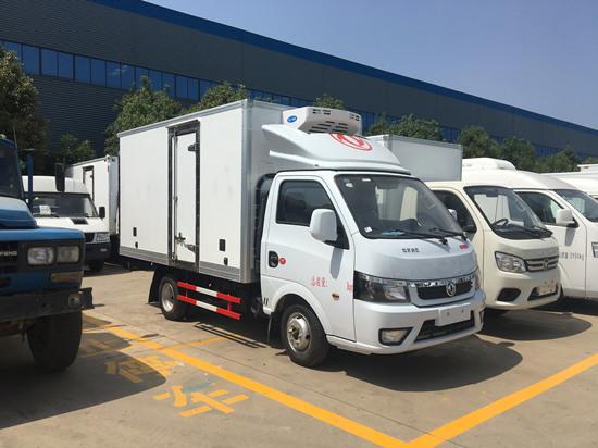 东风途逸国六3.5米厢长冷藏车厂家_价格多少钱_配置_图片