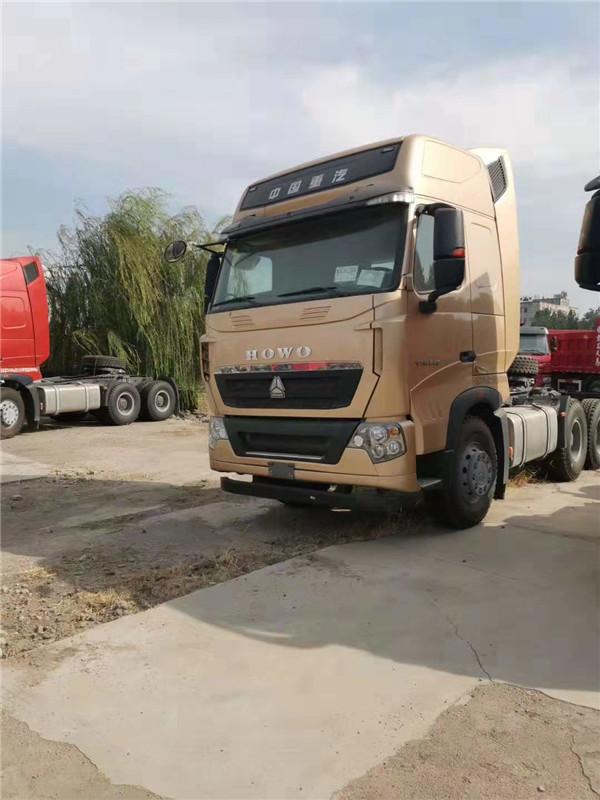 中国重汽土豪金色豪沃540马力6X4重型牵引车