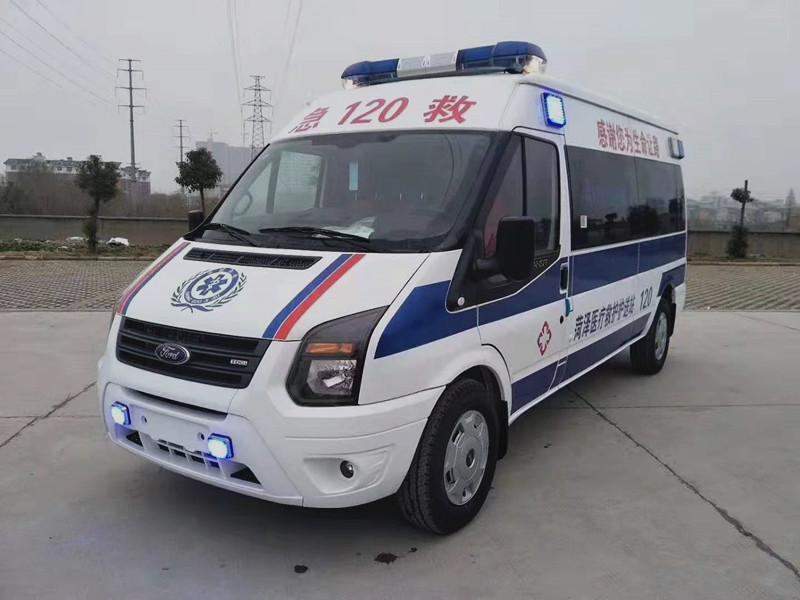 江铃长轴中顶监护型救护车厂家_江铃救护车价格_江铃救护车报价