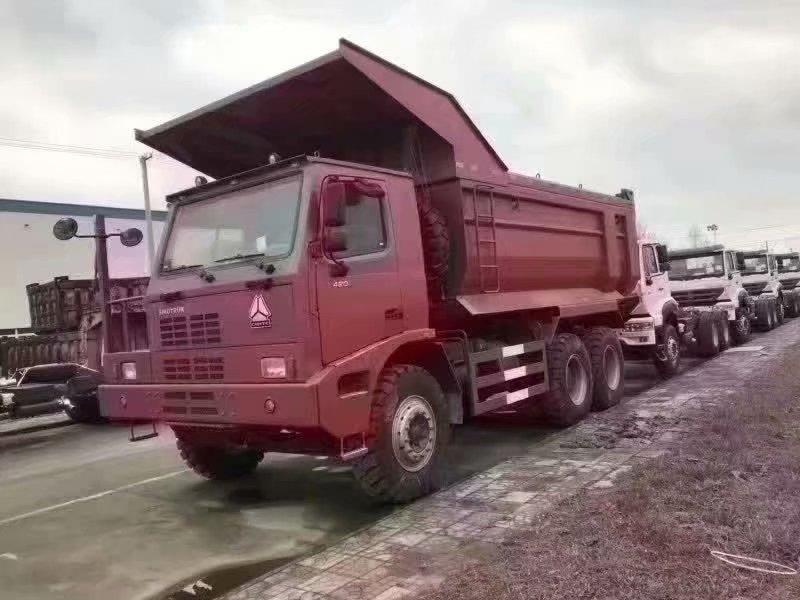 HOWO 6x4矿山霸王