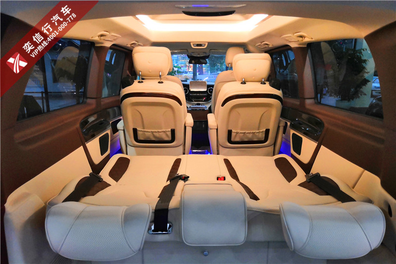 2020全新奔馳七座VCLASS房車 登陸安徽滁州