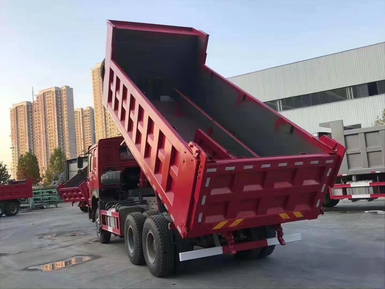 豪沃HOWO25吨自卸出口车