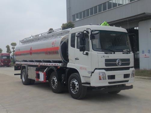 东风天锦小三轴铝合金运油车多少钱