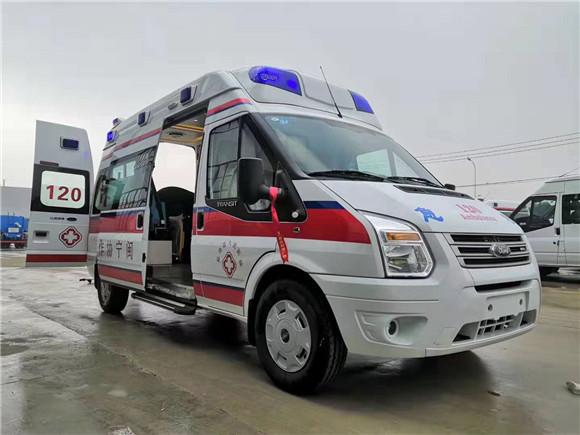 福特v348救護車_福特v348救護車價格_福特最新版整體模具救護車新品上市