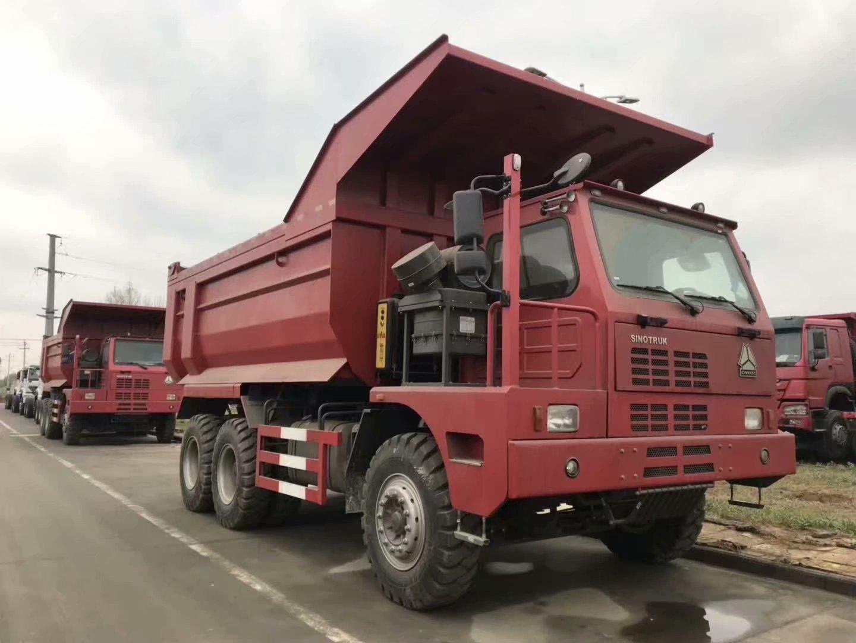 豪沃6x4,70礦自卸車