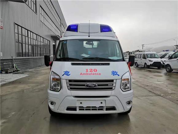 福特v348长轴高福星顶救护车价格_母婴转运救护车价格