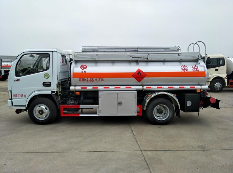 東風多利卡4噸加油車(上藍牌、C照開、全國包上牌!可分期付款!)