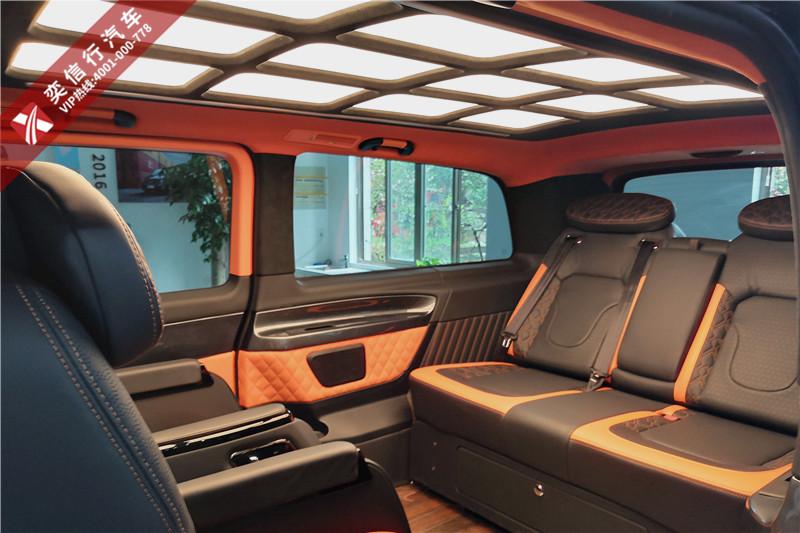 2020新款奔驰七座商务车,V260商务房车图片及报价