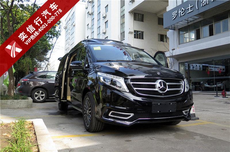 上海奔驰7座V级V260L改装房车图片及报价