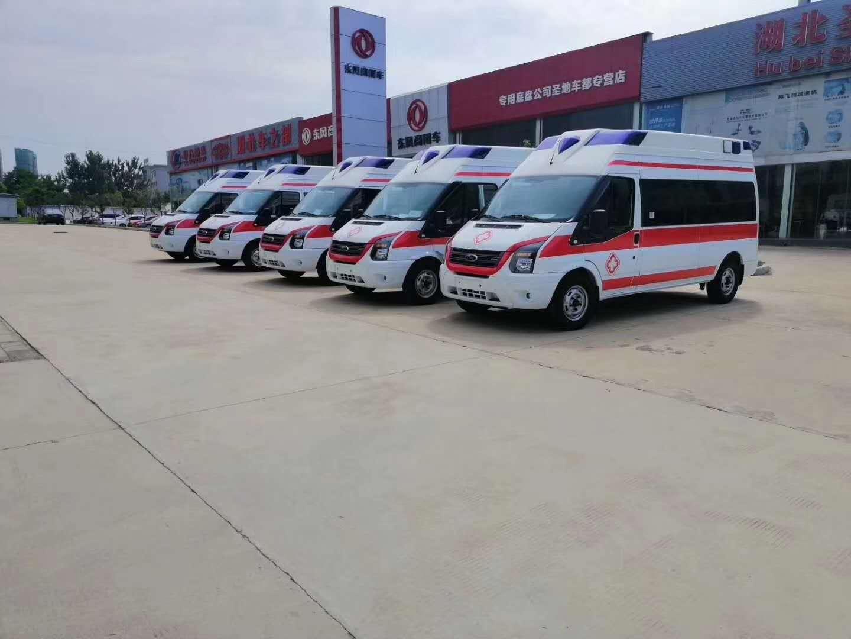 国六江铃福特V348救护车-柴油型负压急救车