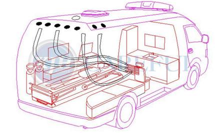 福特 V348 负压型救护车(旗舰款)