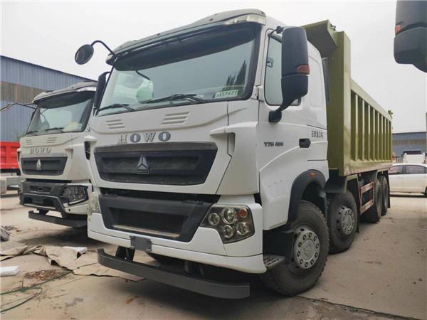 400馬力豪沃T7H 6.5米車廂自卸車