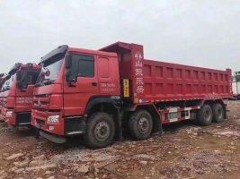 新火红;HOWO 7 8.2米自卸车