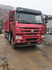 重汽豪沃 8米 2自卸车v7440马力