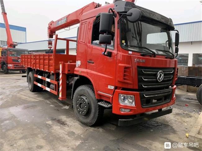 廠家直銷: F5東風華神8噸隨車吊配置也能配F510噸隨車吊價格