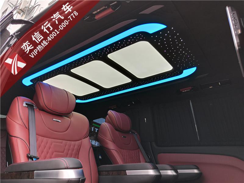奔驰威霆房车全新升级7座连爵版,商务出行低调又奢华的不二之选